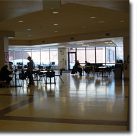 College commons area